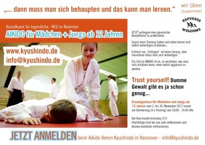 Aikido für Mädchen